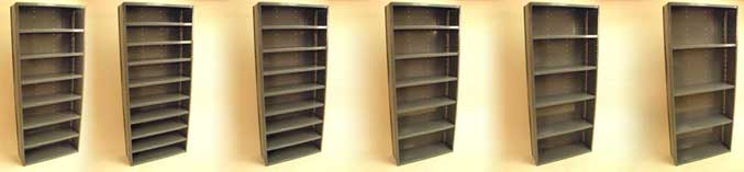 Closed Commercial Storage Shelves